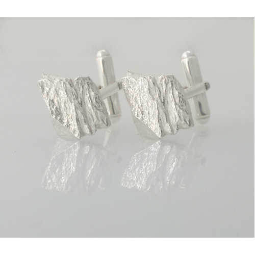 Skelligs Cufflinks - Silver
